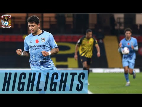 Watford Coventry Goals And Highlights