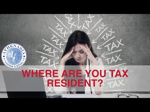 Personal Tax Residency