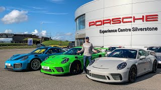 Porsche Mega Test! GT2 RS vs GT3 RS vs GT3