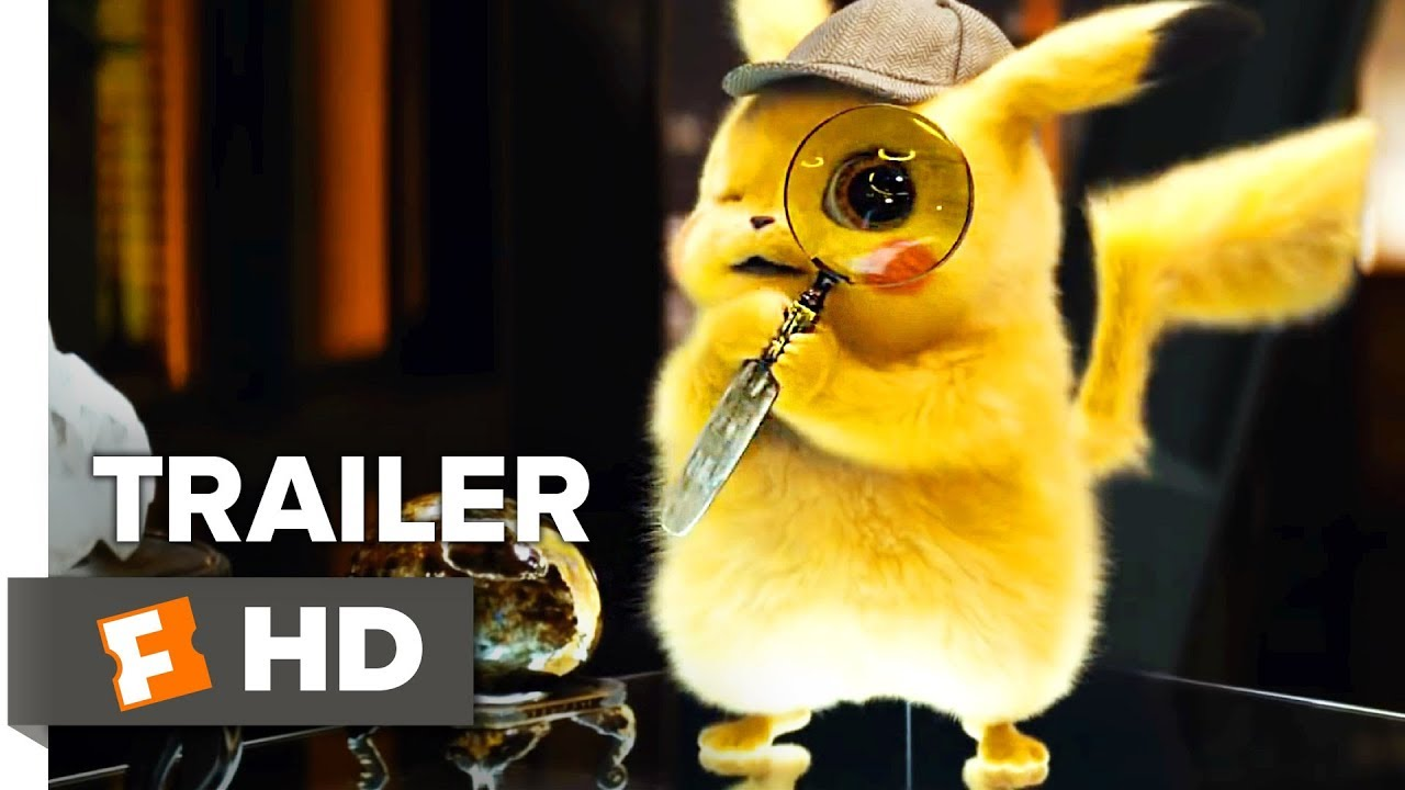 Pokémon Detective Pikachu Trailer #2 (2019) | Movieclips Trailers