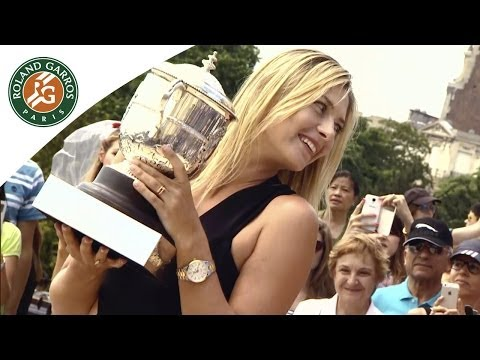 Maria Sharapova's Reaction After 2014 Victory - Roland Garros