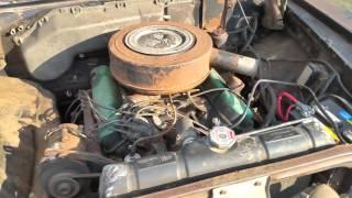1959 Dodge Royal with engine runnig
