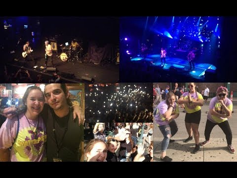 Concert Vlog: WATERPARKS AND ALL TIME LOW!