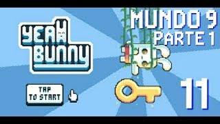 Playthrough Yeah Bunny | [Android] | Parte 11 | Empezando Mundo 9
