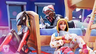 GIRLS OF SEASON 7 SLEEPOVER! *LYNX STORY* - A Fortnite Short Film
