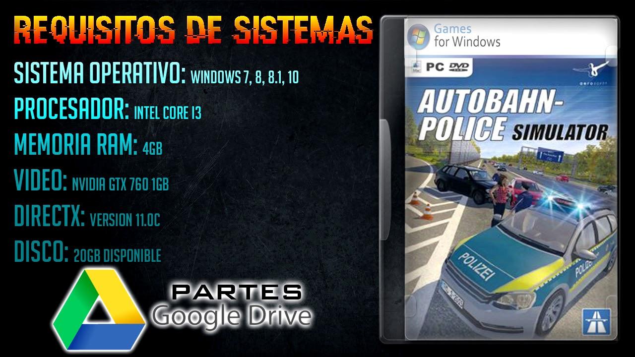 Descargar Autobahn Police Simulator 2 Google Drive Youtube
