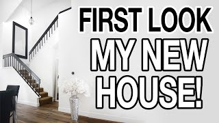 FIRST LOOK: MY NEW HOUSE TOUR!!