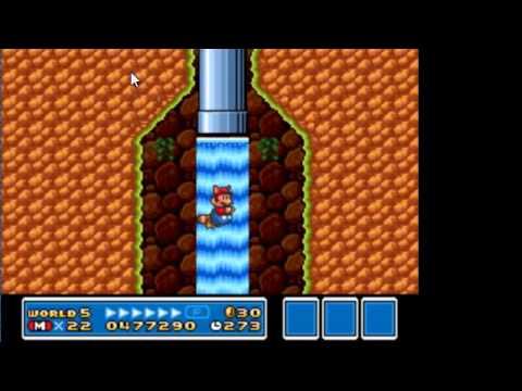 Super Mario Bros. 3 Part 6 Mark messes up