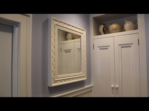 Painting The Fancy Frame Shabby Chic Frame By Jon Peters Youtube