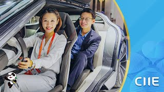 Live CIIE auto hall highlights the future of road travel
