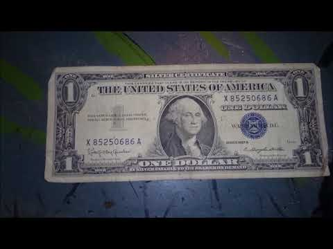 ADD IT TO THE COLLECTION! $1 Blue Seal Silver Certificate