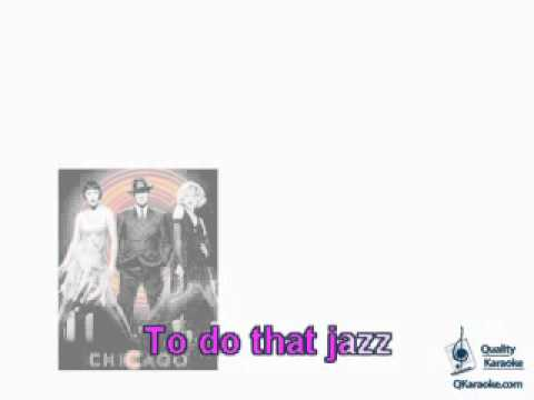 Chicago - All That Jazz (Karaoke Instrumental) w/ Lyrics