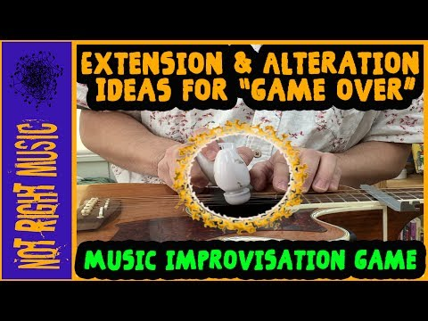Extensions & Alterations for the Music Improvisation Game