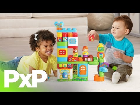 Play is educational and fun with LeapFrog LeapBuilders sets! | A Toy Insider Play by Play