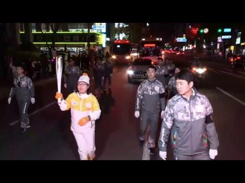 2018 평창 동계올림픽대회 성화봉송 생중계-8일차(PyeongChang 2018 Olympic Torch Relay Live-Day8)