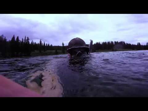 Free diving Cobbett Lake Grand Mesa Colorado