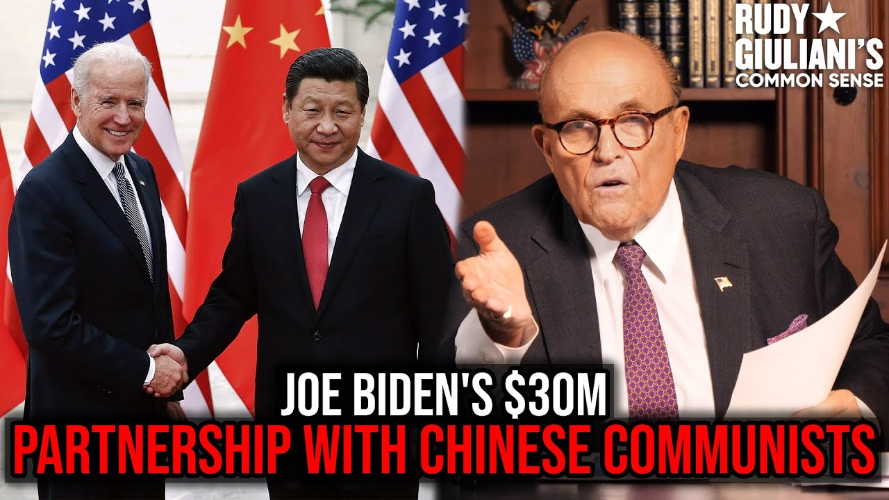 Joe Biden PARTNERED With Chinese For $30M | Rudy Giuliani |