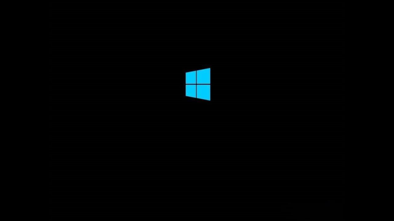 После установки Windows 10 черный экран