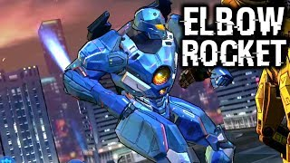 How Strong Is Elbow Rocket? | Pacific Rim Breach Wars