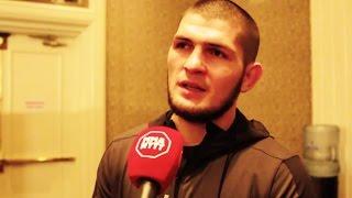 Хабиб рассказал в интервью что будет в 2017