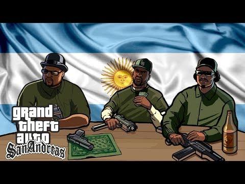 Doblaje Argento - GTA San Andreas