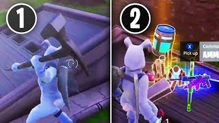 """Secret Bunker"" GIVES MAX MATERIALS & UNLIMITED LOOT!! - *NEW* Fortnite GLITCH!! (WTF!)"
