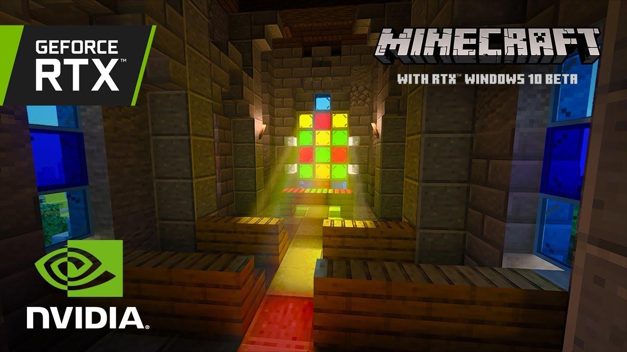 Minecraft с RTX | Новый набор карт