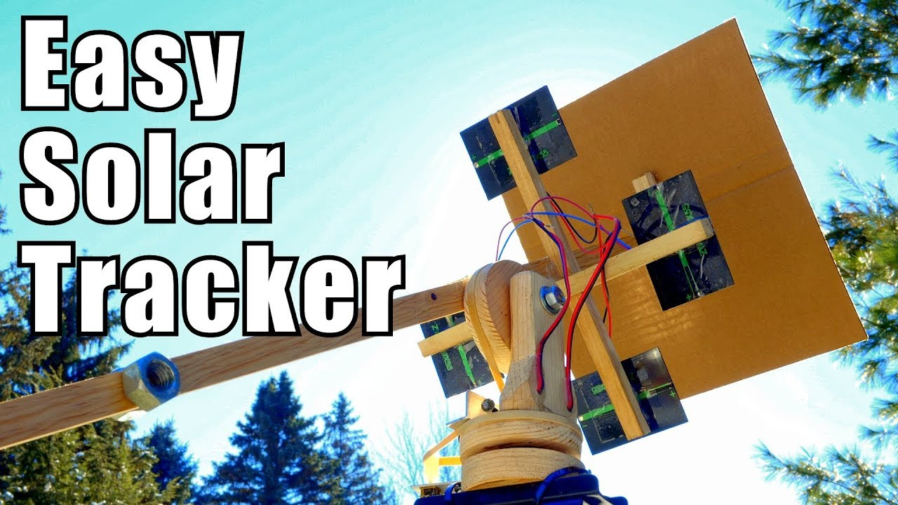 DIY Solar Tracking System Inspired by