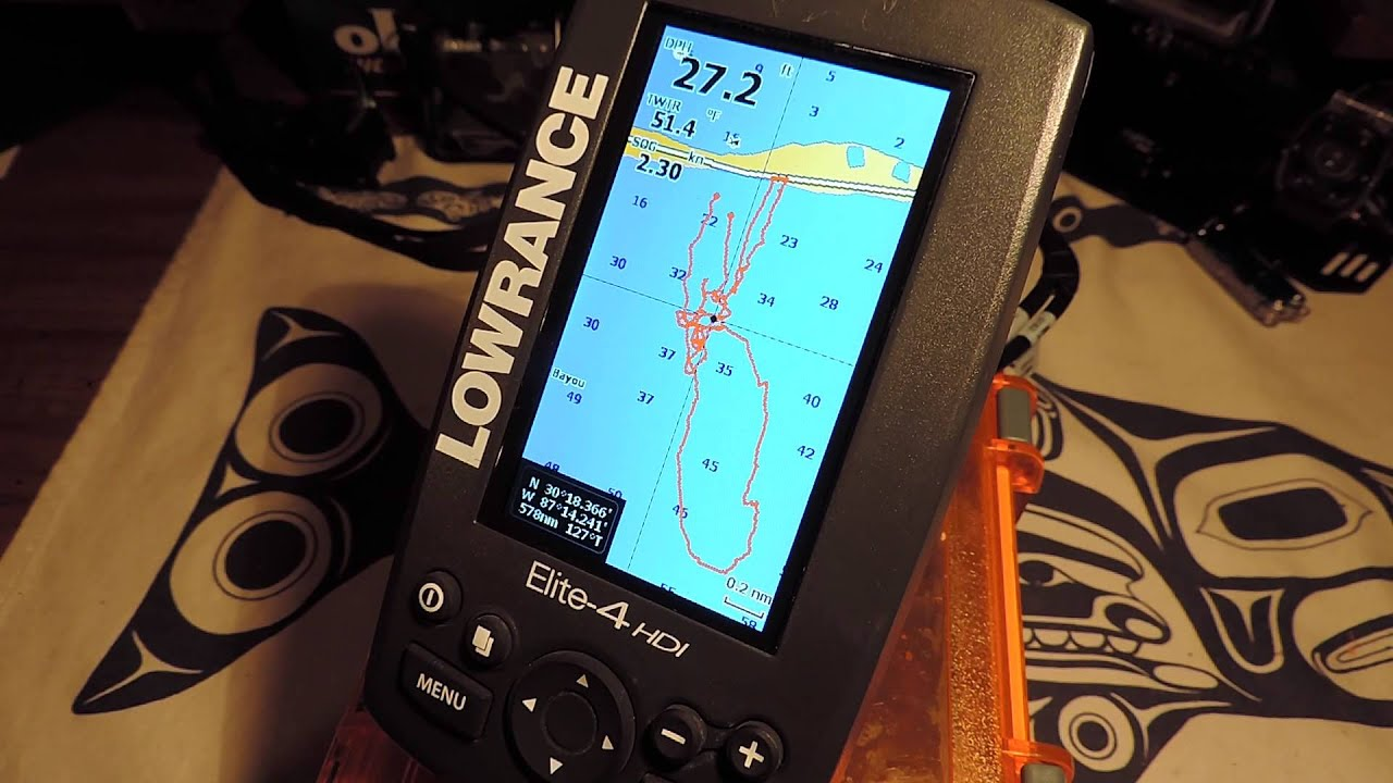 Lowrance Elite 4 HDI - GPS Tips