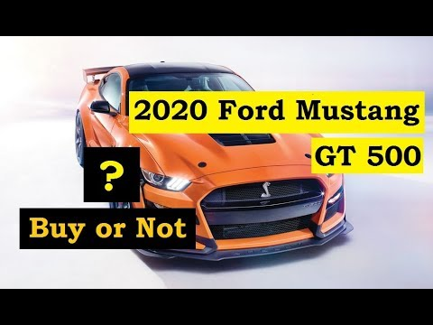 2020 Mustang GT500 Review [English]