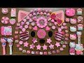 MIXING TOO MANY THINGS INTO NEW STORE BOUGHT SLIME || HELLO KITTY TOPIC || SPECIAL SERIE #PINK