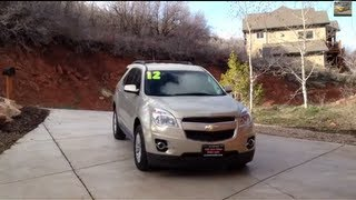 2012 Chevrolet Equinox LT V6 AWD full review (start up, exhaust, engine, interior, exterior)
