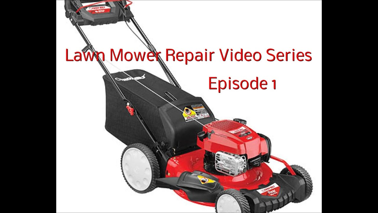 How To Change Lawn Mower Engine Oil and Introduction to New Video Series