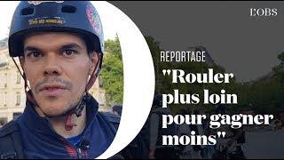 Deliveroo : les livreurs à vélo et scooter confient les raisons de leur colère