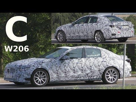 VIDÉO - La Mercedes-Benz Classe C se balade