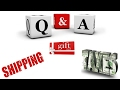 Q & A | eBay Shipping Policies, Discounted Gift Cards and Taxes