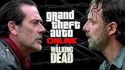 GTA Online l The Walking Dead | Rick Grimes and Negan Outfit Tutorials