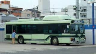 京都市交通局 1800号車 CNGノンステップバス