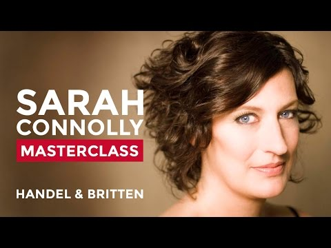 RCM Vocal Masterclass with Sarah Connolly: Handel and Britten