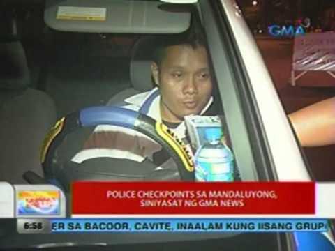 UB: Police checkpoints sa Mandaluyong sinisiyasat ng GMA News