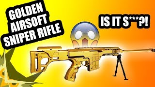 Golden Airsoft Sniper Rifle! Is it Sh**????