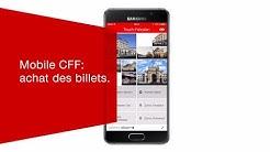 Mobile CFF: achat des billets.
