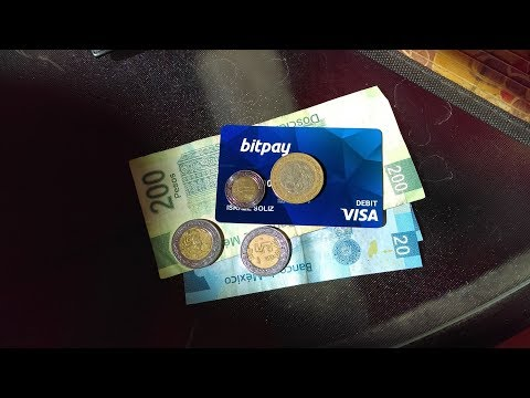 Using My BitPay Bitcoin Visa Card To Get Cash In Mexico