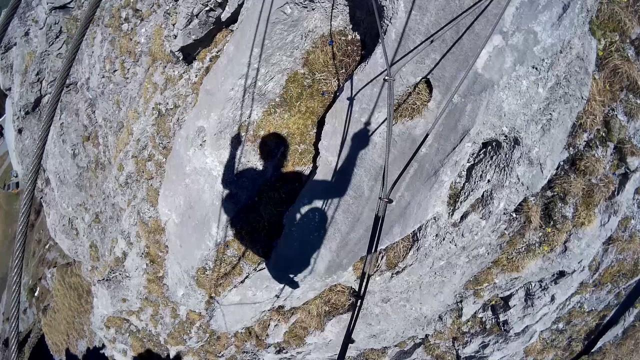 Klettersteig Switzerland : Via ferrata engelberg brunnistöckli klettersteig switzerland