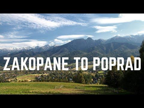 Driving from Zakopane, Poland to Poprad, Slovakia   GoPro