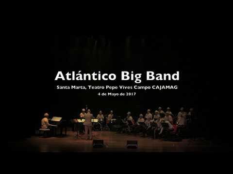 Atlántico Big Band En Teatro Pepe Vives Campo, Santa Marta, Chucho (Paquito D'Rivera)