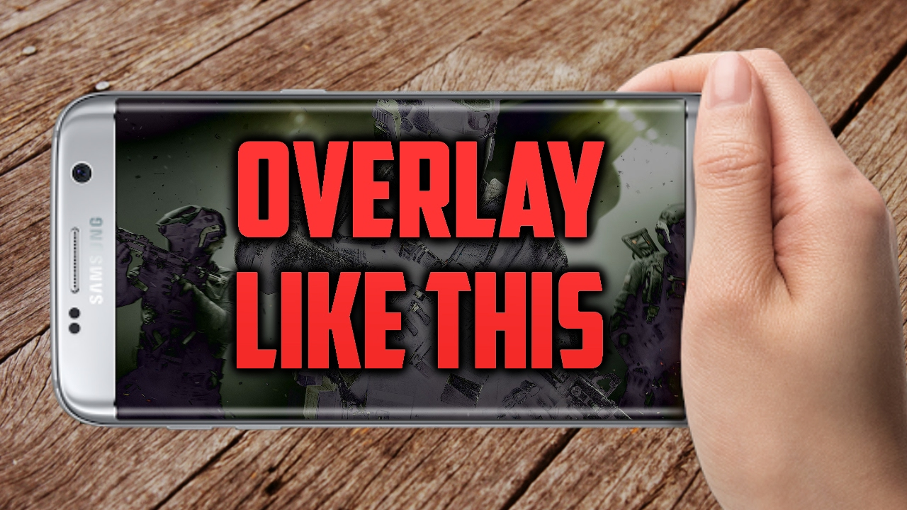 how to add an overlay to a video