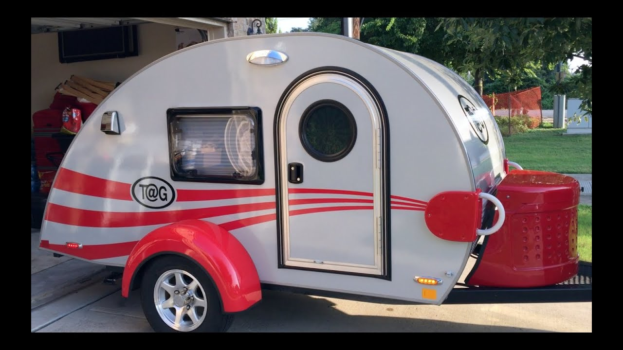 Custom Teardrop Trailer Little Guy Camper TG