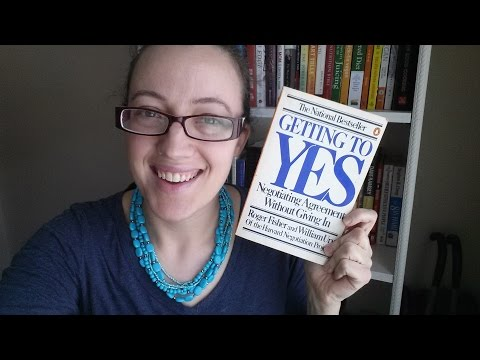 Getting To Yes  { Book Review }