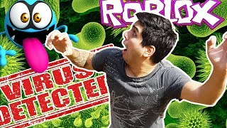 THERE IS A VIRUS IN ROBLOX AND I BREAK THE PC!! - ROBLOX TO THE CASIMOCHO